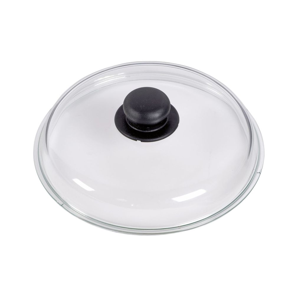 Glasdeckel mit Kunststoffgriff, Ø 26 cm