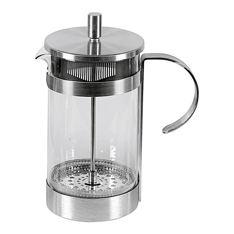 Cafetière, Kaffeebereiter aus Edelstahl, satiniert, 1000 ml