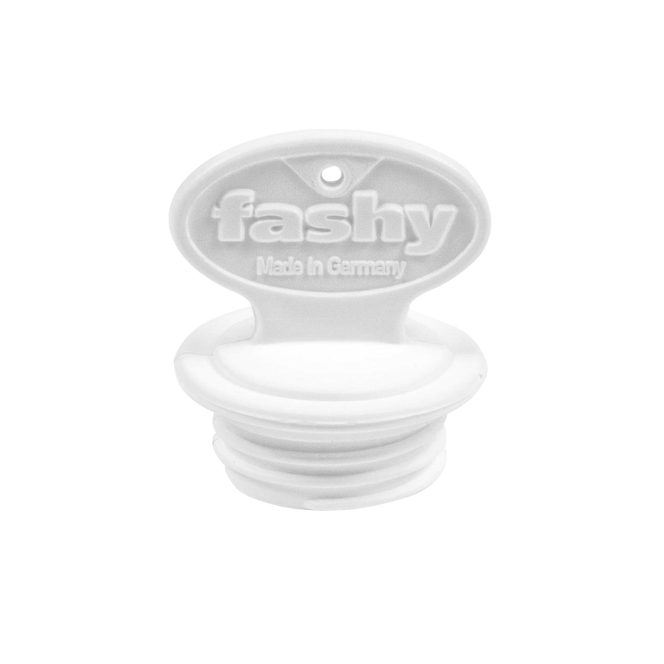 1 Stück fashy 6014 Wärmflaschen Ersatz-Verschluss groß Gewinde Ø 29 mm weiß
