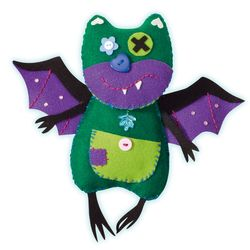 Folia Little Monster Friends Batty Loonymoo Gary Specter Scraggles, mehrfarbig, 5-teilig (1 Set) – Bild 5