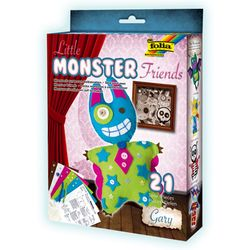Folia Little Monster Friends Batty Loonymoo Gary Specter Scraggles, mehrfarbig, 5-teilig (1 Set) – Bild 7