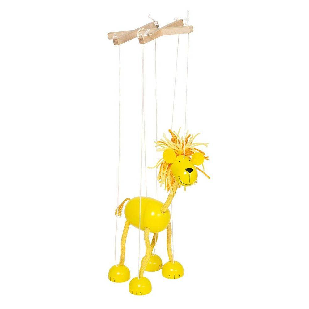Marionette Löwe