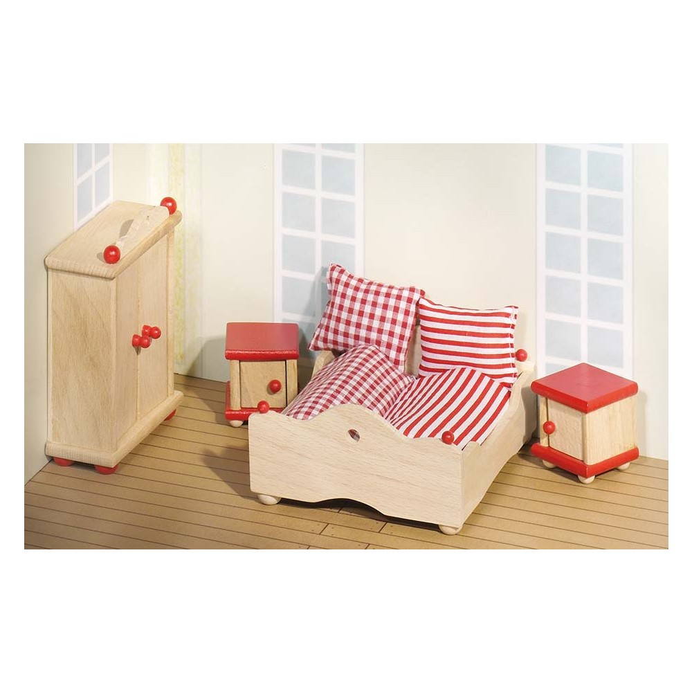 Puppenmöbel Schlafzimmer