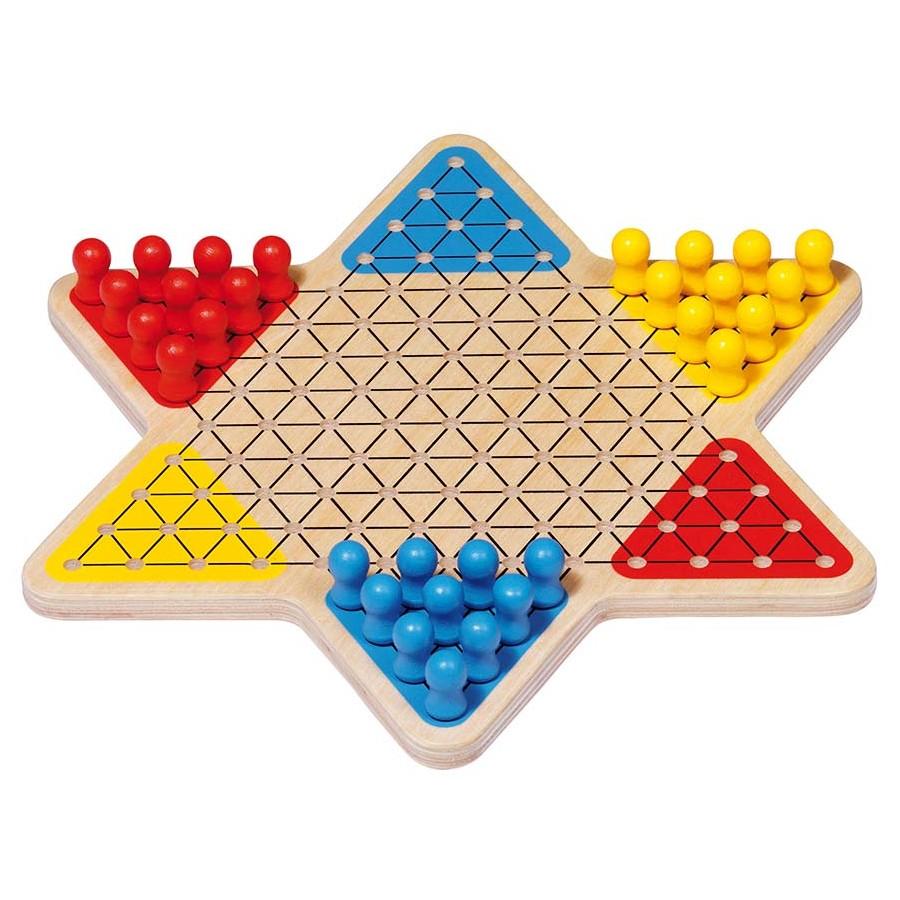 goki 56707 Brettspiel Halma, basic., mehrfarbig (1 Stück)