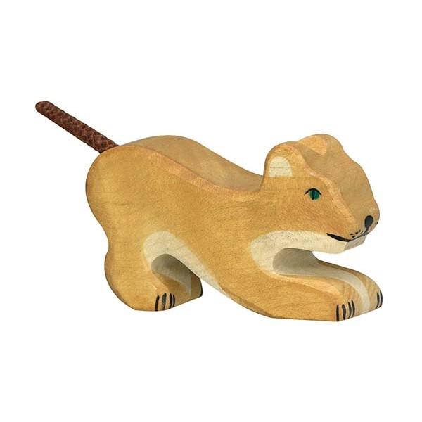 Löwe, klein, spielend