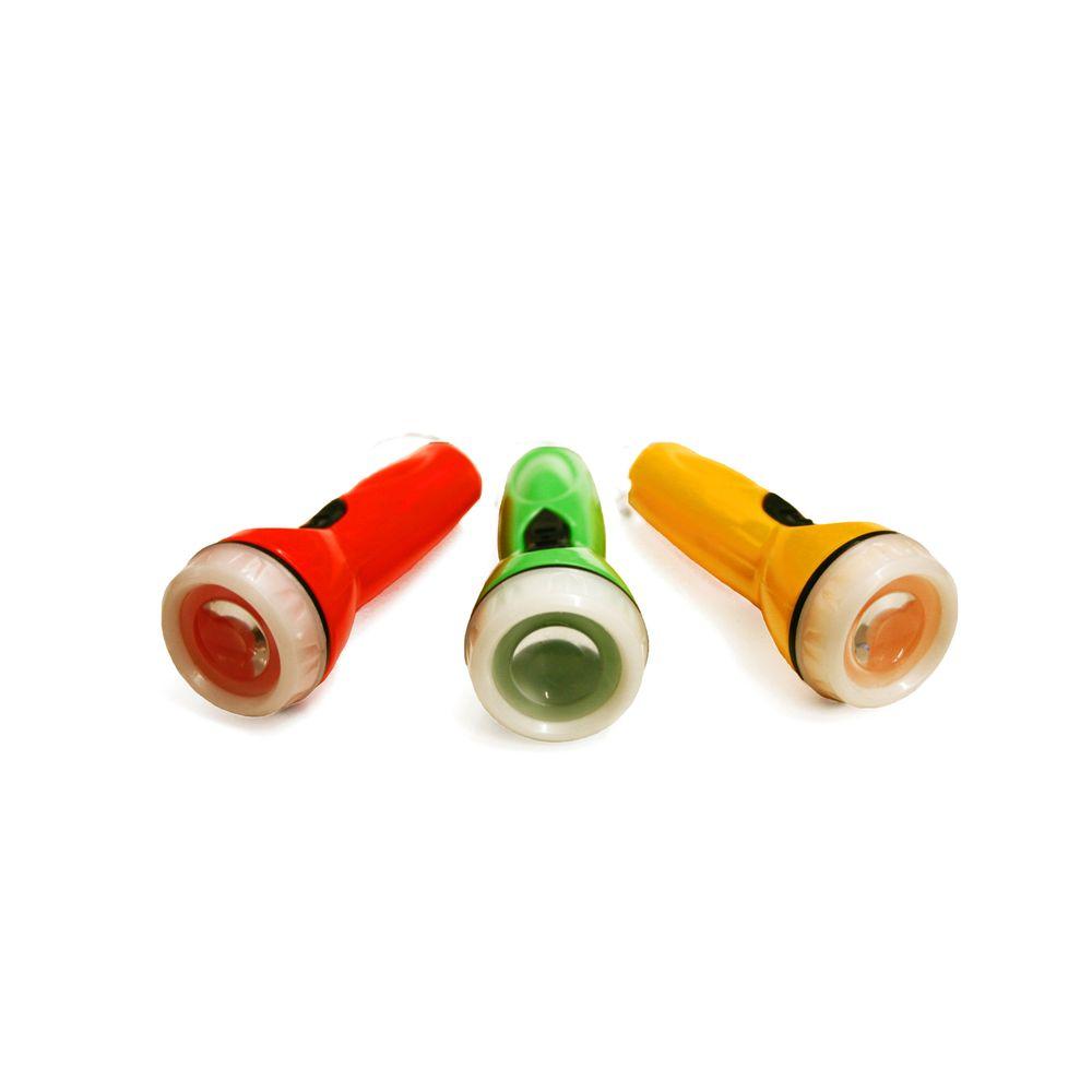 Schlüsselanhänger Mini Taschenlampe, 1 Stück, farbig sortiert