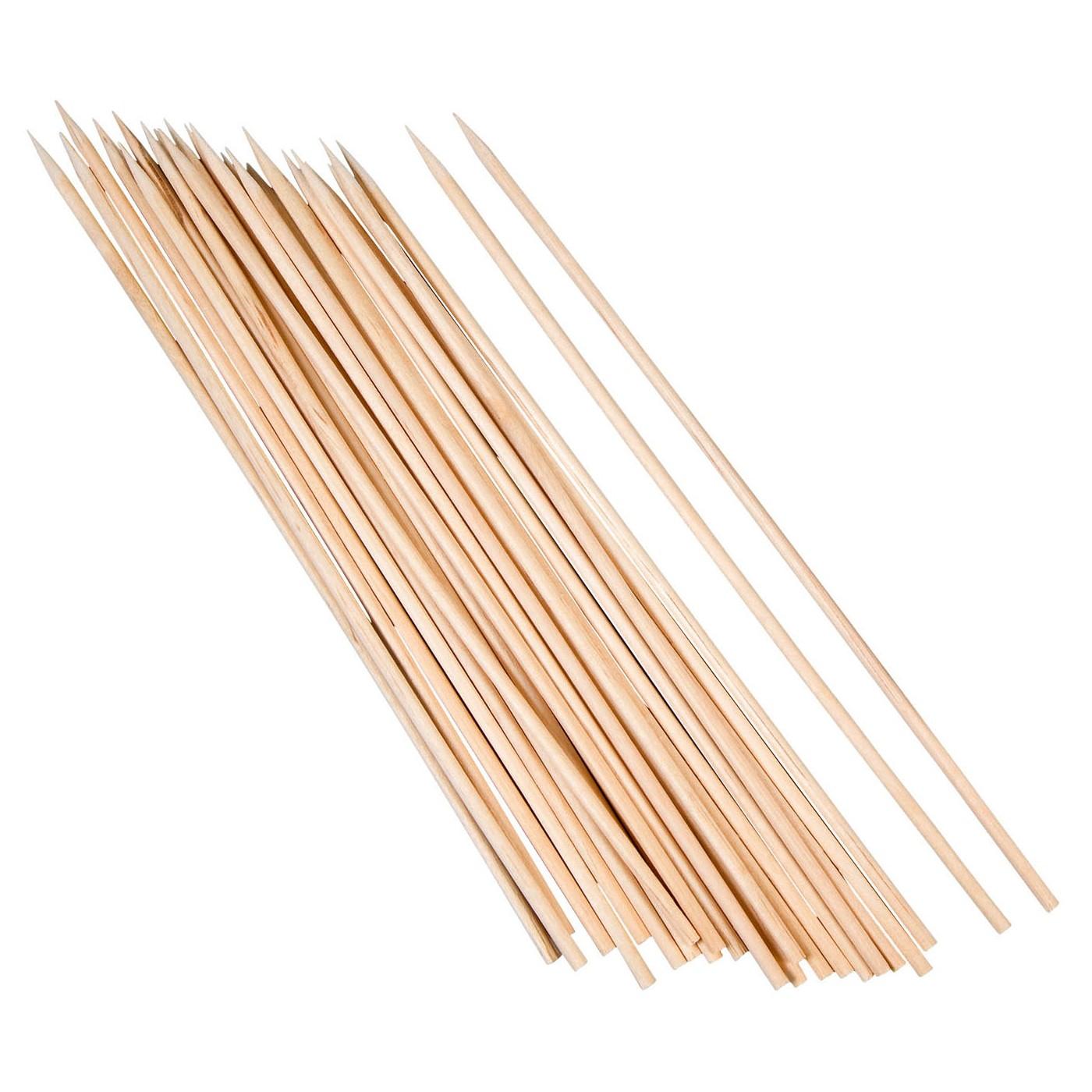 kögler schaschlik-stäbe aus holz, 20 cm, natur (25er pack) | ebay