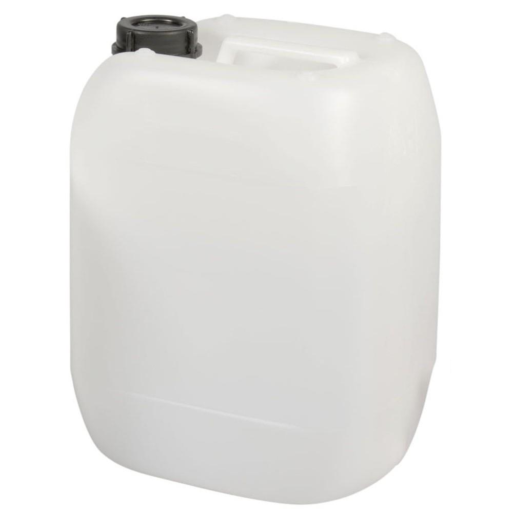 kunststoff kanister 20 liter stapelbar wei transparent. Black Bedroom Furniture Sets. Home Design Ideas