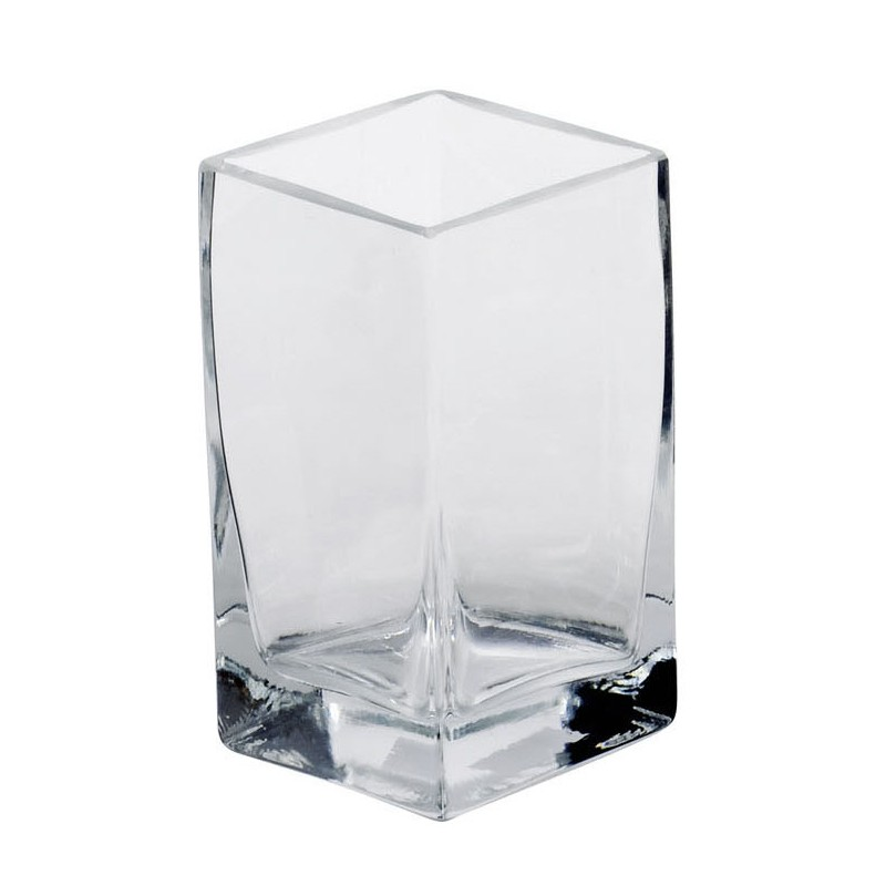 sandra rich vase windlicht square w rfel aus glas eckig vonsandra rich g nstig bei. Black Bedroom Furniture Sets. Home Design Ideas