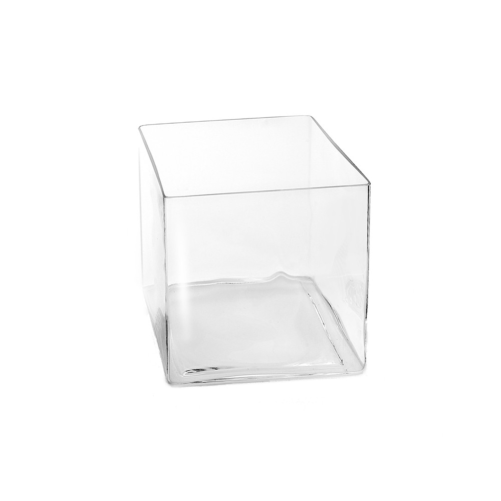 sandra rich 1616 16 cube vase windlicht cube w rfel aus glas eckig 16 x 16 cm klar 1. Black Bedroom Furniture Sets. Home Design Ideas