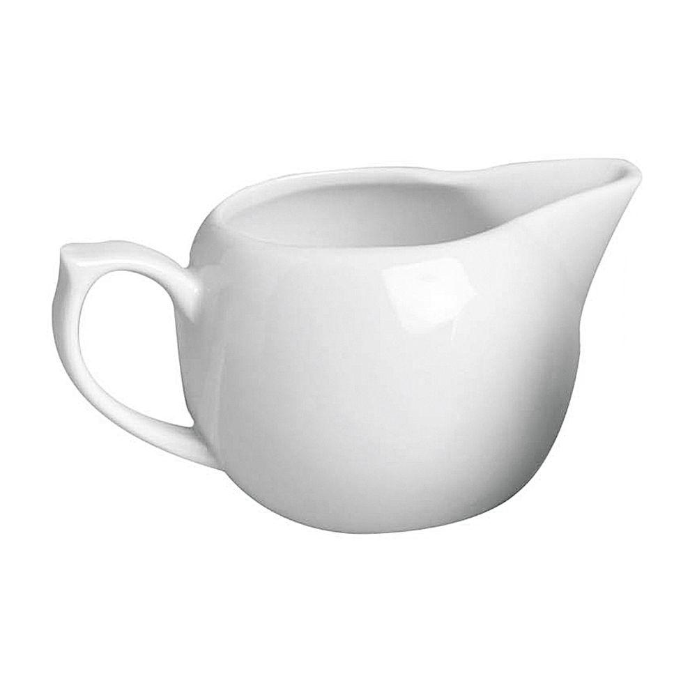 Milchkännchen, 180 ml, H 6,5 cm, Porzellan