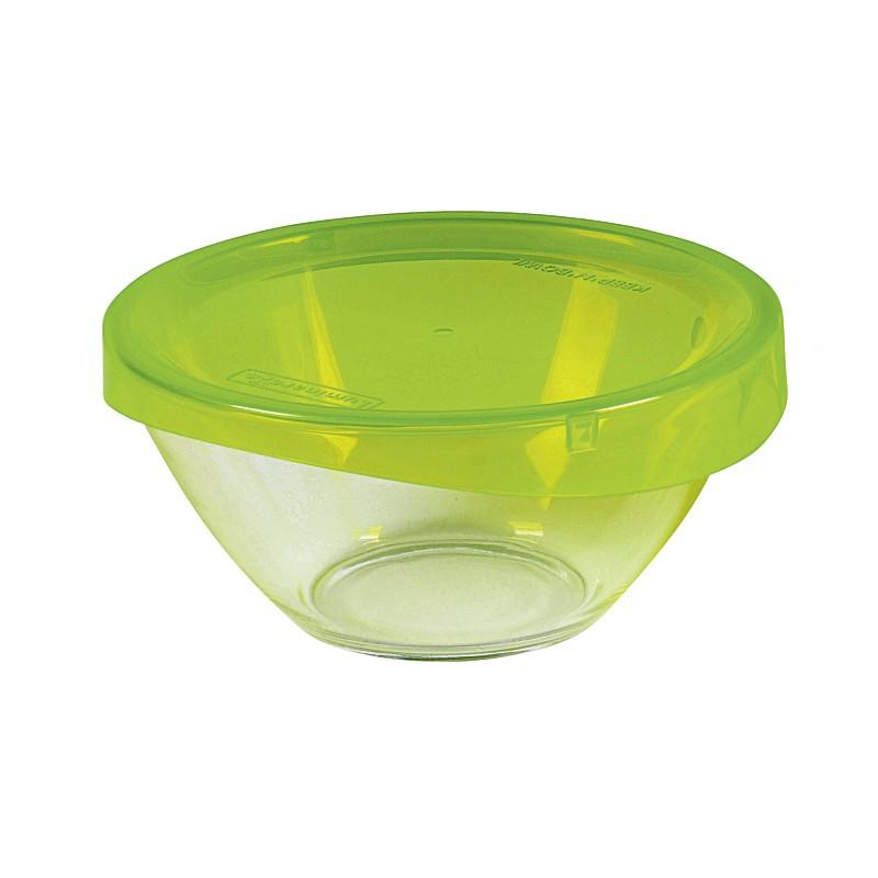 Glasschale mit Deckel, Ø 17 cm, 1 Liter
