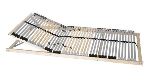 7-Zonen Premium-Lattenrost 90x200 cm Kopfteil verstellbar 1B-Ware