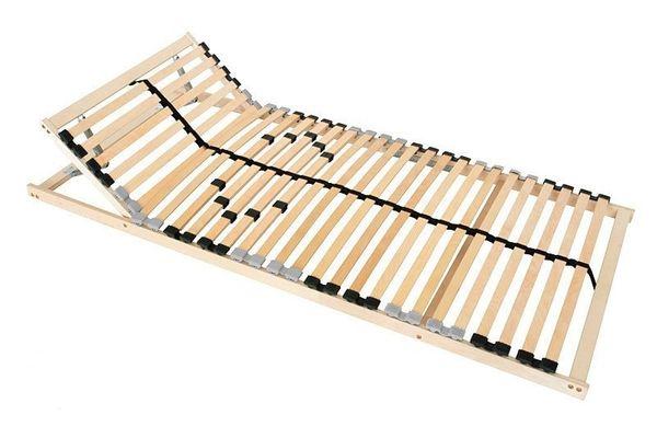 Coemo Lattenrost-Discounter Lattenrost mit aufgestelltem Kopfteil
