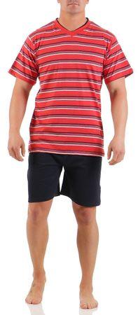 Herren Shorty Schlafanzug verschiedene Modelle 100% Baumwolle Gr. 48/M - 54/XXL – Bild 3