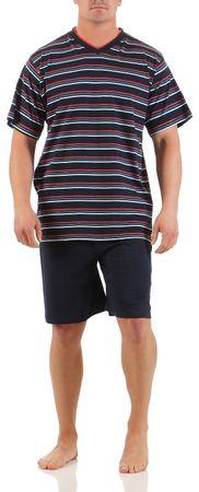 Herren Shorty Schlafanzug verschiedene Modelle 100% Baumwolle Gr. 48/M - 54/XXL – Bild 4