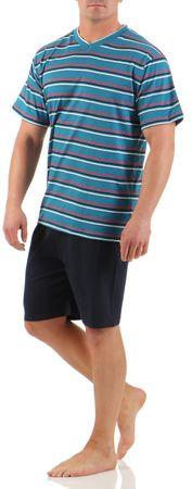 Herren Shorty Schlafanzug verschiedene Modelle 100% Baumwolle Gr. 48/M - 54/XXL – Bild 2