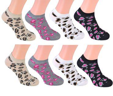 8 Paar Sneaker Socken Füsslinge  – Bild 6