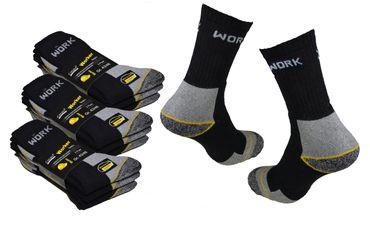 9 bis 30 Paar Arbeitssocken Markenware Cocain Berufs Socken Herren Socke Tech Dessin Bau und Beruf – Bild 1