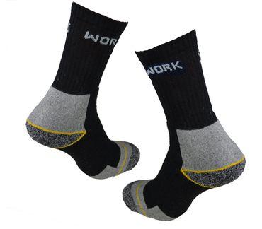 9 bis 30 Paar Arbeitssocken Markenware Cocain Berufs Socken Herren Socke Tech Dessin Bau und Beruf – Bild 2