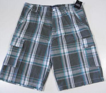 Herren Bermuda Shorts Freizeithose, Strandhose, Sommerhose, kariert, Webware  – Bild 2