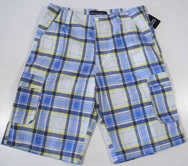 Herren Bermuda Shorts Freizeithose, Strandhose, Sommerhose, kariert, Webware  – Bild 7