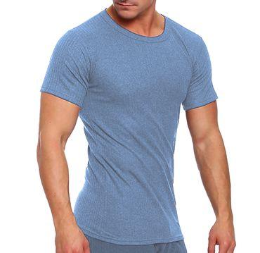 Thermo-Unterhemd, Funktionsunterhemd, 1/4 Arm, innen angeraut, Skiwäsche, Thermo – Bild 2