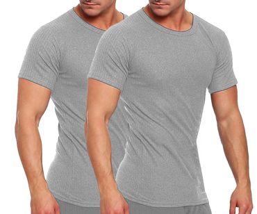 Thermo-Unterhemd, Funktionsunterhemd, 1/4 Arm, innen angeraut, Skiwäsche, Thermo – Bild 1