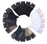 10 Paar unifarbige Herren / Damen Socken ohne Gummi handgekettelt Gr. 35 bis 50 001