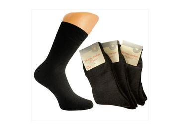 3 Paar Damen Thermo-Socken schwarz – Bild 1