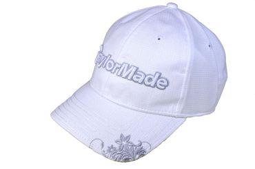 TaylorMade Chelsea Golf-Cap oder Golf Visor mit 3-D Logo und floralem Motiv  – Bild 9