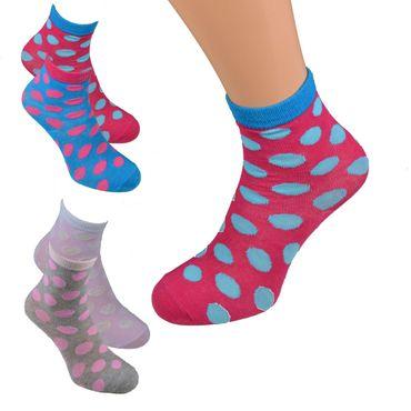 4, 8 oder 12 Paar Socken für Mädchen & Knaben gemustert Gr. 19/22 bis 31/34 – Bild 1