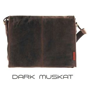 Laptoptasche / Messenger-Bag aus geöltem Buffalo-Leder - Extremely rugged Outback Wear