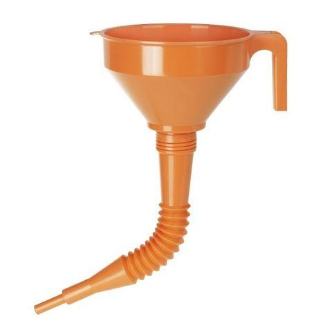 Pressol Katalysator-Trichter a. PE 160 mm, 1,2 Liter, Flexauslauf