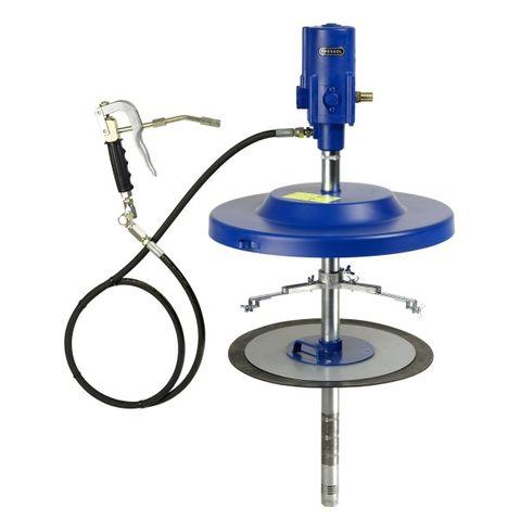 Fett-System 50:1, stationär, 4 m Schlauch, für 50 kg Behälter von 335 - 385 mm Innendurchmesser