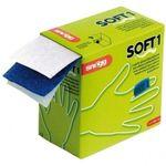 Snoegg Soft1 klebefreies Pflaster Nachfüllbox, Farbe blau