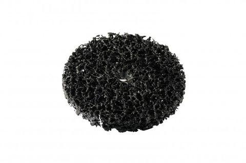 Bibielle Grobreinigungsscheibe, Reinigungsvlies, schwarz, 150 mm Durchmesser, STW004