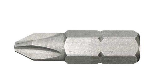 Bit für Phillips Schrauben Größe 3, PH3, 25 mm Länge - 10 Stück
