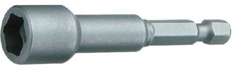 Steckschlüsseleinatz, magnetisch 1/4  Antrieb, SW 3/8 Zoll, lange Ausführung