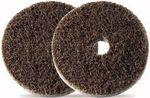 Bibielle Vliesklettscheibe 115 mm aus Surface Conditioning HEAVY DUTY mit Innenloch 22,2 mm, medium (mittel) - rot SDH501