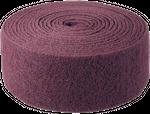 Bibielle Schleifvlies 10 m Rolle, fein, rot, NRL005