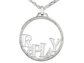 REPLAY EasyChic RVC205GH0 Halskette Strass Kreis günstig kaufen 001