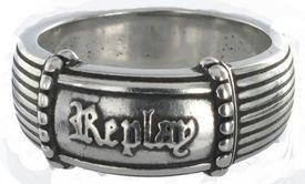 REPLAY Mixed-Gothic RAR182-64 Ring Edelstahl Gr. 64 günstig kaufen 001