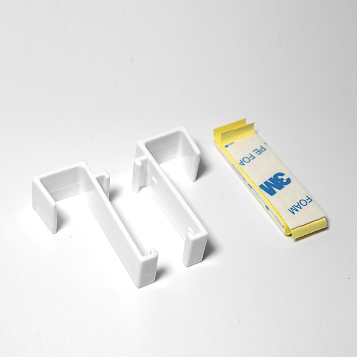 klemmfix duo rollo 75 cm oder 100 cm breit ohne bohren. Black Bedroom Furniture Sets. Home Design Ideas