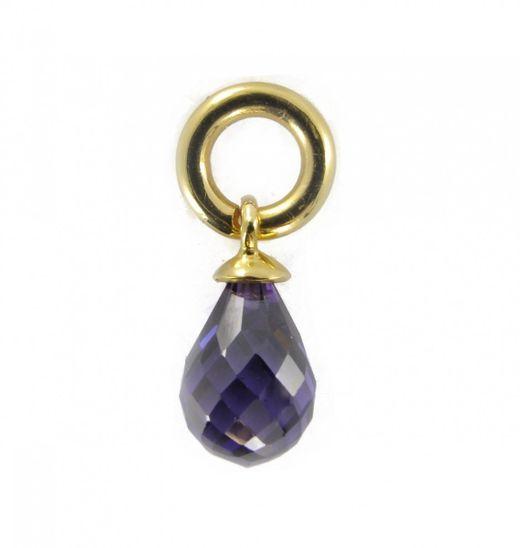 Story Charme Tropfen lila Amethyst Silber 5408814 günstig kaufen