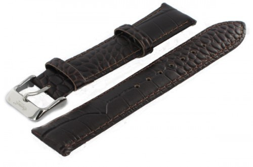 Ingersoll Leder Uhrenarmband Dornschließe braun 20mm günstig kaufen