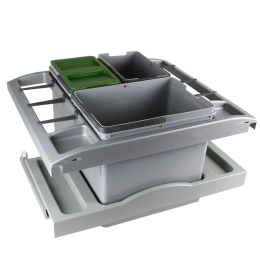 Impuls Abfalltrennsystem Separato K 3-teilig Mülleimer Abfalleimer