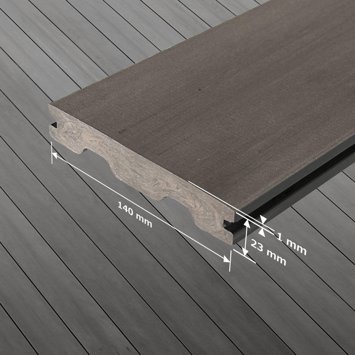 Muster Bpc Terrassendielen Terrassenboden Premium Wpc Bambus Dielen