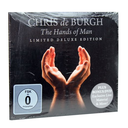Chris de Burgh: The Hands of Man Limited Deluxe Edition CD + DVD – Bild 2