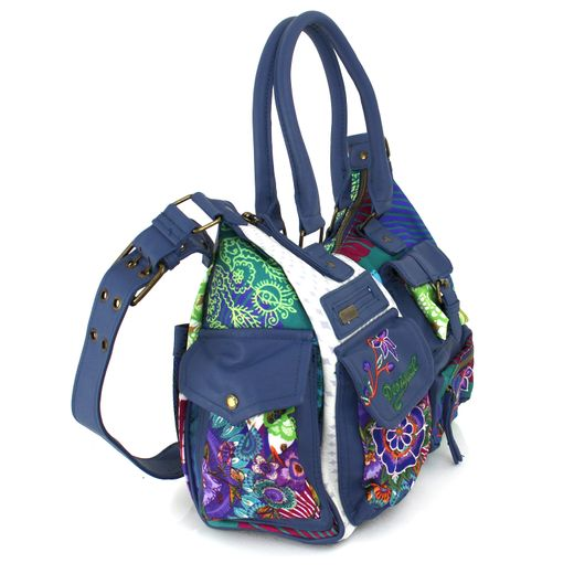 Desigual Bols London Floreada Carry Umhängetasche Handtasche Damentasche Tasche – Bild 2